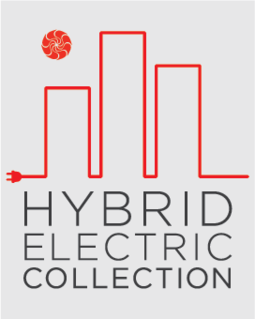 Logo for the Hybrid Electric Collection by Irvine Company