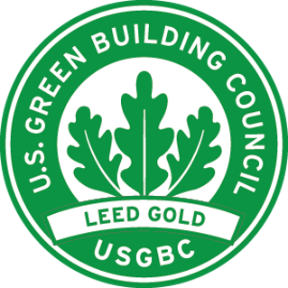 LEED Gold green logo