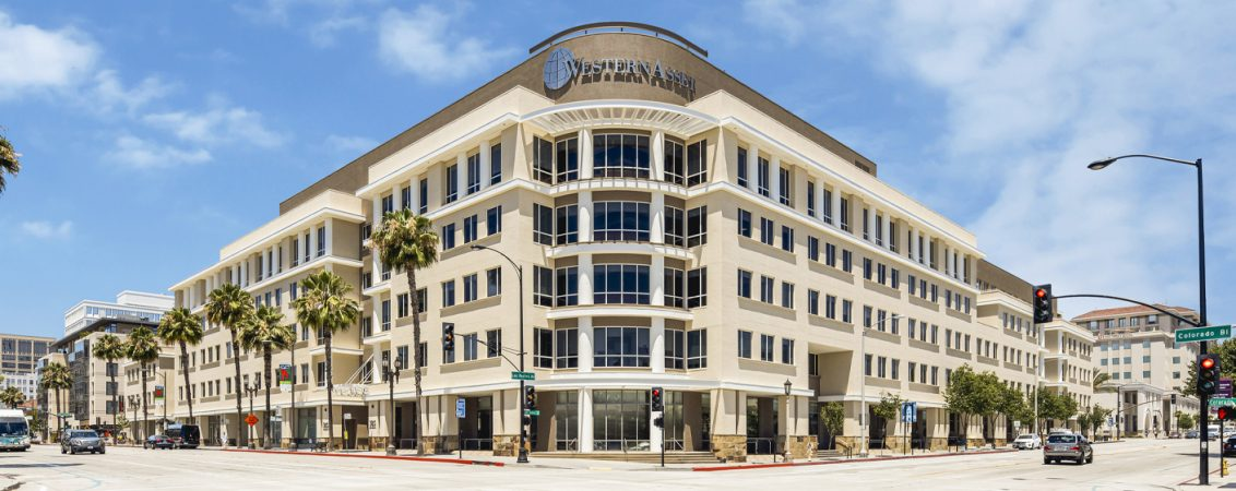 Building hero photography of Western Asset Plaza - 385 East Colorado Boulevard in Pasadena, CA