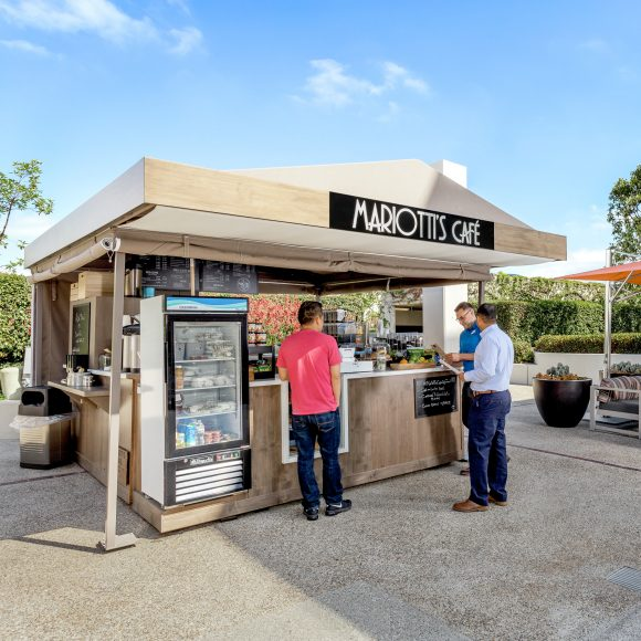 Photography of Mariotti's Cafe at Executive Park, Irvine, CA