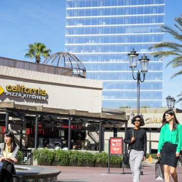 Lifestyle photography of Irvine Spectrum Center retail, Irvine, Ca