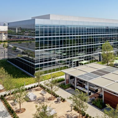 Exterior views of Discovery Business Center in Irvine Spectrum. Moore 2012. Shared Drive Submission - July 23, 2012.