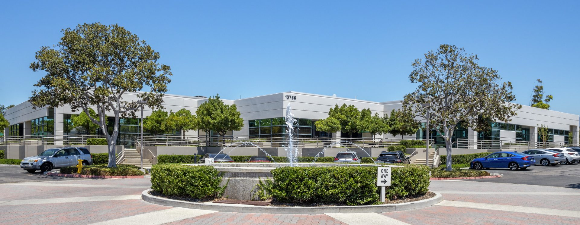 General views of Tripointe office buildings in Irvine, CA