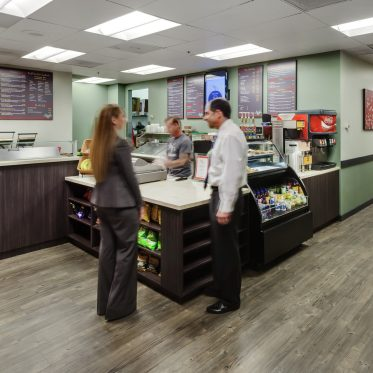Interior views of MJ's Cafe at 610 Newport Center Drive in Newport Center. RMA Photography 2013.