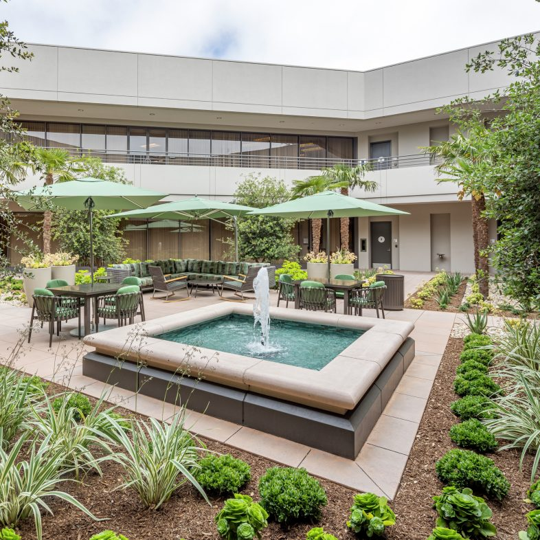 Activated building photography of 22 Corporate Plaza Drive, Newport Beach, California