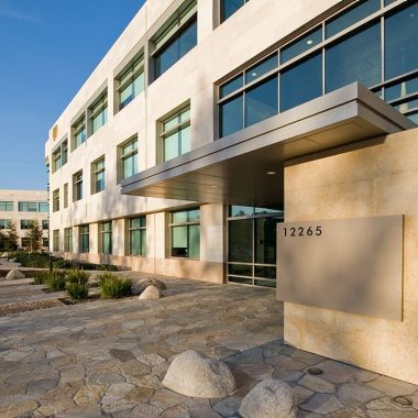 Exterior building photography of 12265 El Camino Real - Paseo Del Mar in San Diego, CA