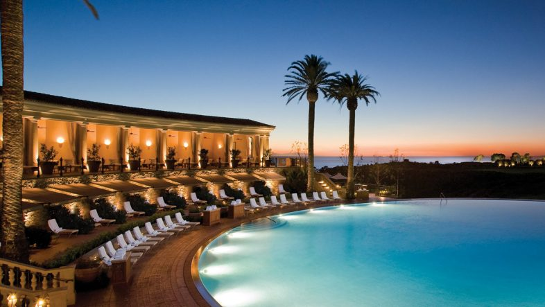 Photography of the coliseum pool at The Resort at Pelican Hill in Newport Beach, CA