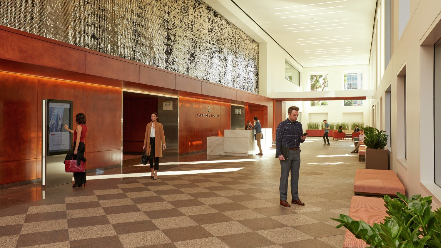 Symphony Towers Lobby Rendering