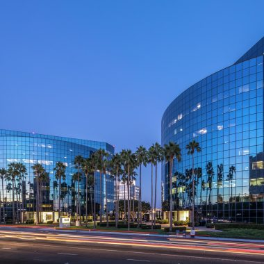 Building hero image of La Jolla Center.  9255 Towne Center Drive and 4660 La Jolla Village Drive, San Diego, Ca