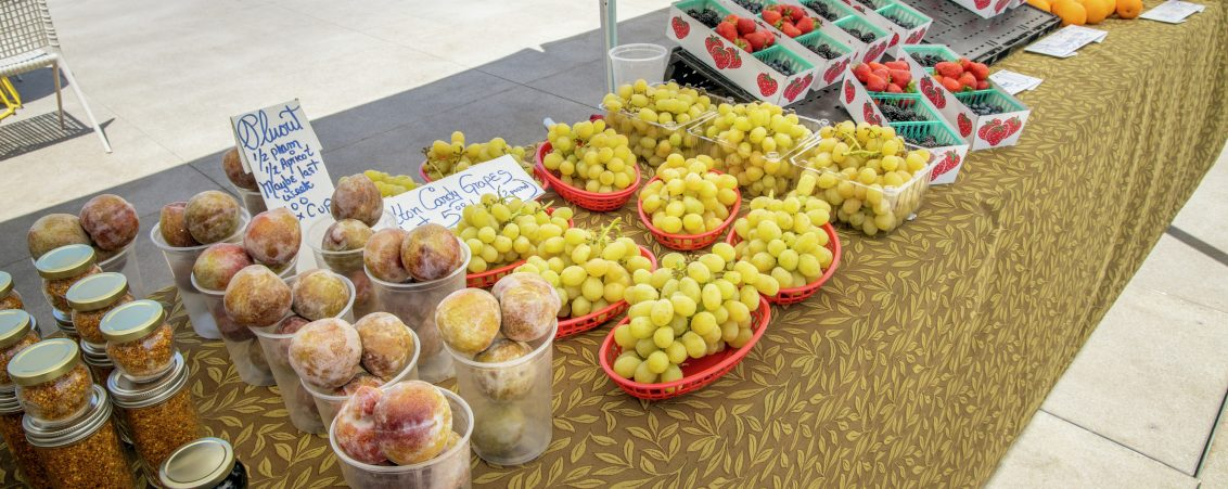 Lifestyle photography of the Farmers Market at UCI Research Park in Irvine, CA